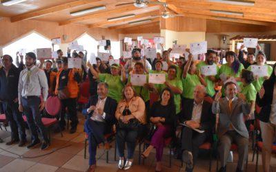Proyecto REP: Recicladores se certifican en Hualpén