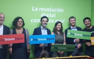 1.500 alumnos iniciaron cursos con beca Talento Digital