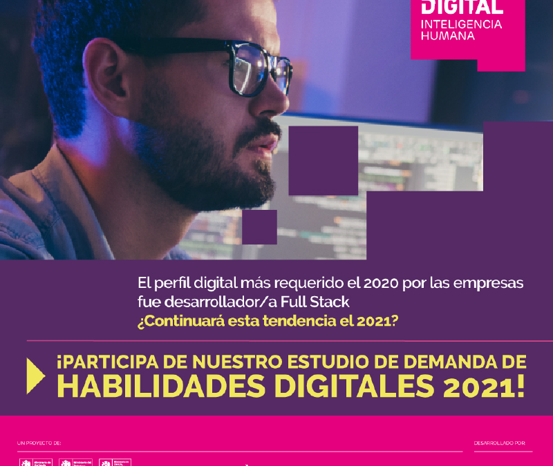 Talento Digital para Chile busca conocer cuáles son las necesidades de las empresas hoy