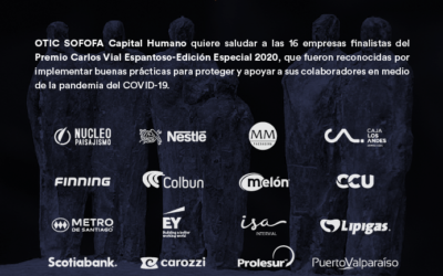 Clientes de OTIC SOFOFA entre los ganadores del Premio Carlos Vial Espantoso
