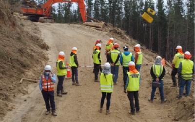 ARAUCO y OTIC SOFOFA lazan inédito programa para formar operadores de faenas forestales